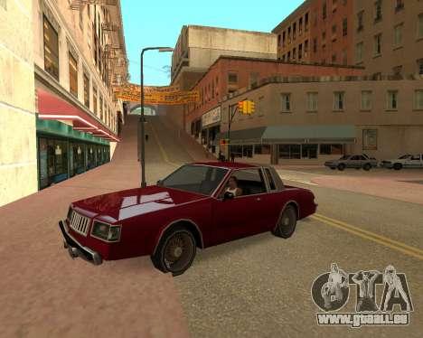 ENB for SAMP by MAKET für GTA San Andreas zweiten Screenshot