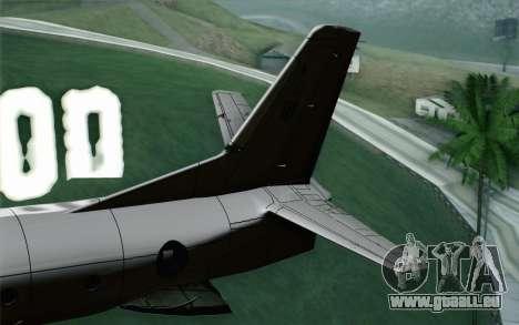 AN-32B Croatian Air Force Opened pour GTA San Andreas sur la vue arrière gauche