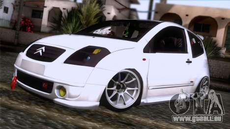 Citroen C2 für GTA San Andreas