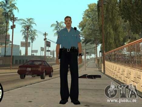 Israeli Police Officer pour GTA San Andreas cinquième écran