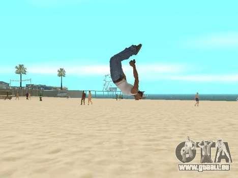Parkour mod v2.0.4 pour GTA San Andreas