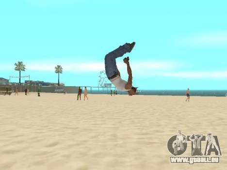 Parkour mod v2.0.4 für GTA San Andreas