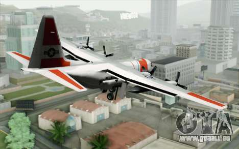 C-130H Hercules Coast Guard für GTA San Andreas linke Ansicht