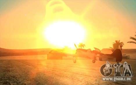 GTA 5 ENB by Dizz Nicca pour GTA San Andreas deuxième écran