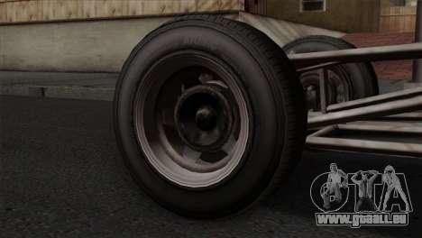 GTA 5 Dune Buggy IVF pour GTA San Andreas sur la vue arrière gauche
