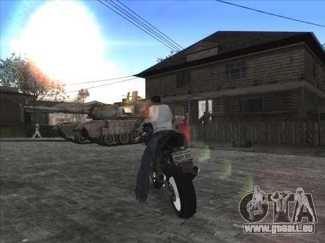 Persönliche Auto auf der Grove Street CJ für GTA San Andreas fünften Screenshot