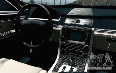 Maybach 57S Coupe Xenatec für GTA San Andreas Rückansicht