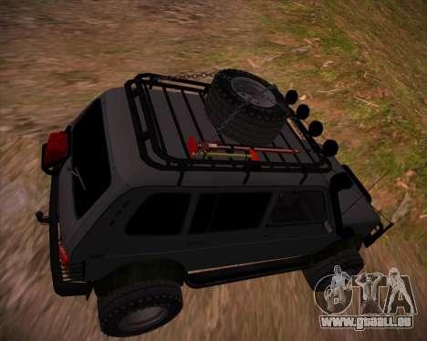 VAZ 2131 Niva 5D OffRoad pour GTA San Andreas moteur