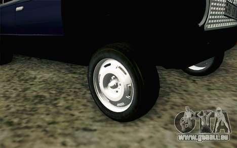 VAZ 21011 Hobo für GTA San Andreas zurück linke Ansicht