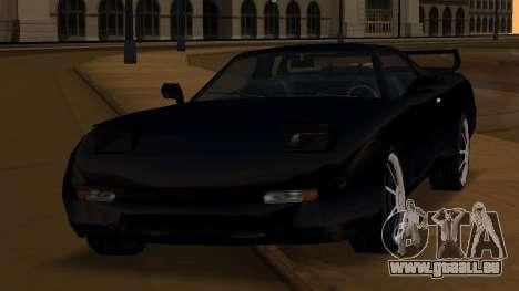 Beta ZR-350 Final für GTA San Andreas obere Ansicht