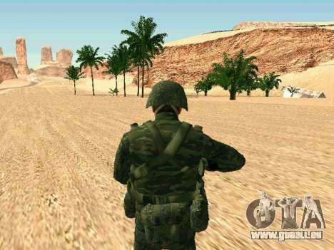 L'armée russe est une nouvelle forme d' pour GTA San Andreas cinquième écran