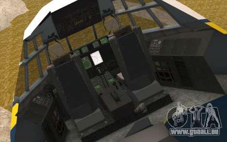 C-130H Hercules Blue Angels pour GTA San Andreas vue arrière