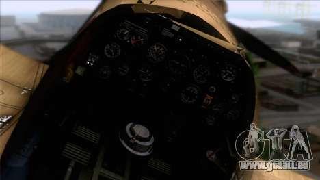 Stanislaw Skalski Supermarine Spitfire MK IXC für GTA San Andreas rechten Ansicht