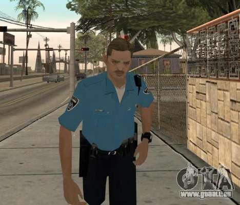 Israeli Police Officer pour GTA San Andreas