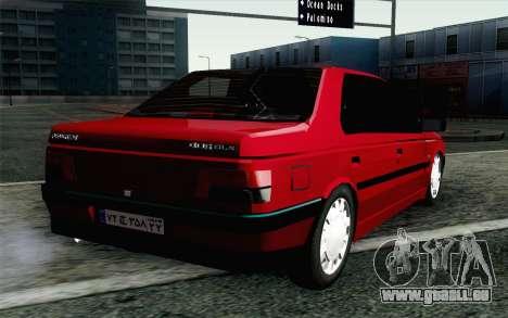 Peugeot 405 Tuning pour GTA San Andreas laissé vue
