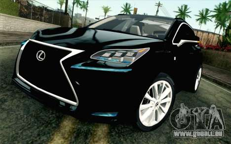 Lexus NX 200T v4 pour GTA San Andreas