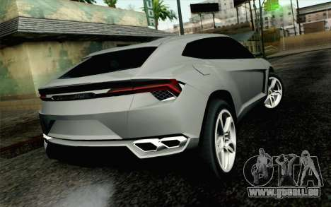 Lamborghini Urus Concept pour GTA San Andreas laissé vue