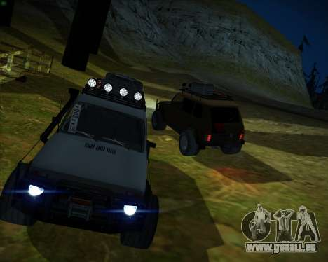 VAZ 2131 Niva 5D OffRoad pour GTA San Andreas