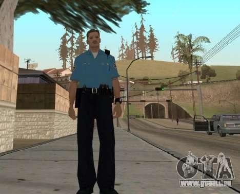 Israeli Police Officer pour GTA San Andreas sixième écran