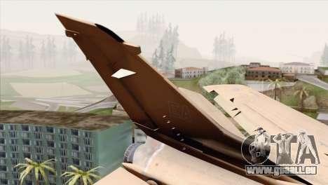 Tornado MIG Eater pour GTA San Andreas sur la vue arrière gauche