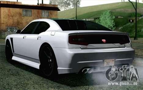 GTA 5 Bravado Buffalo S v2 pour GTA San Andreas laissé vue
