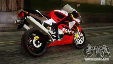 Honda RVT1000R (RC51) IVF pour GTA San Andreas laissé vue