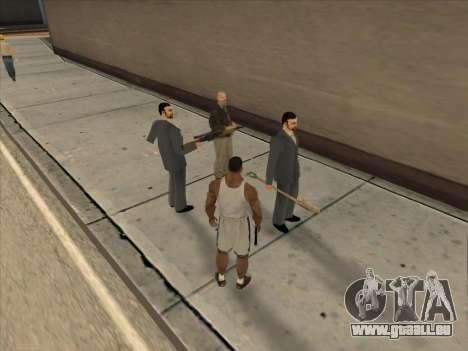 Les Russes dans le quartier Commercial pour GTA San Andreas dixième écran