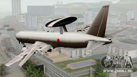 Boeing E-767 Japan Air Self-Defense Force EoJ für GTA San Andreas linke Ansicht