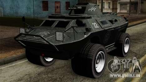 GTA 4 TBoGT Swatvan v2 für GTA San Andreas