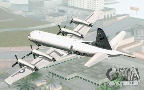 Lockheed P-3 Orion VP-11 US Navy für GTA San Andreas linke Ansicht