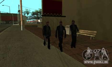 Modifier les zones les gangs et leurs armes v1.1 pour GTA San Andreas huitième écran