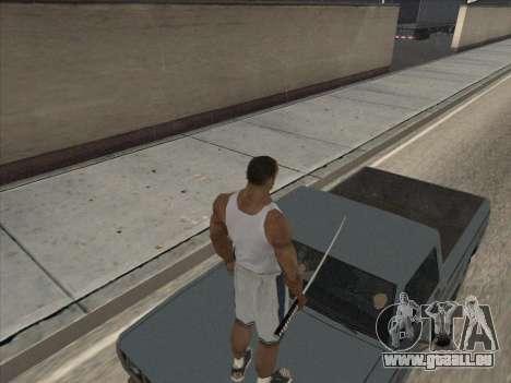 Les Russes dans le quartier Commercial pour GTA San Andreas cinquième écran