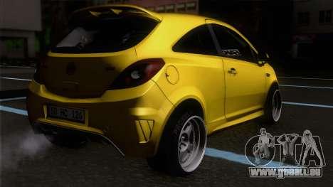 Opel Corsa OPC für GTA San Andreas linke Ansicht