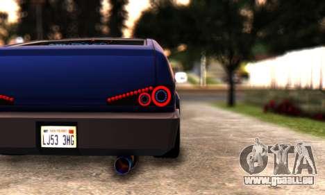 Blista Compact By VeroneProd pour GTA San Andreas vue de droite