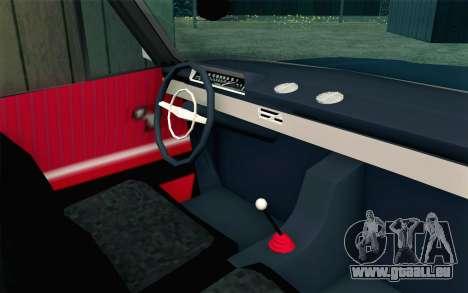VAZ 21011 Hobo pour GTA San Andreas vue de droite