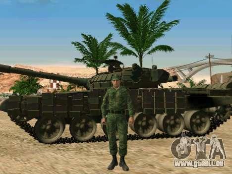 L'armée russe est une nouvelle forme d' pour GTA San Andreas huitième écran