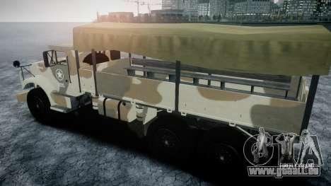 GTA 5 Barracks v2 pour GTA 4 est un côté
