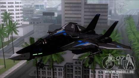 F-14 Neon Blue Macross Frontier für GTA San Andreas