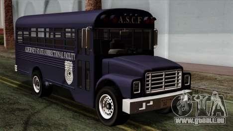 GTA 4 TLaD Prison Bus für GTA San Andreas