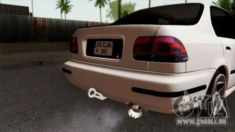 Honda Civic 1.6 für GTA San Andreas Rückansicht