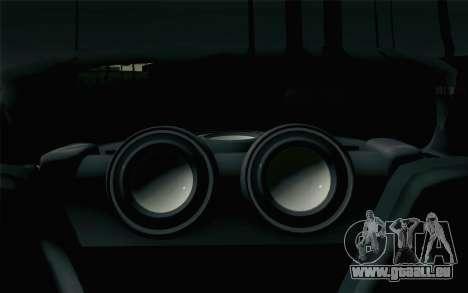 Mazda RX-7 Veilside Tokyo Drift für GTA San Andreas Rückansicht