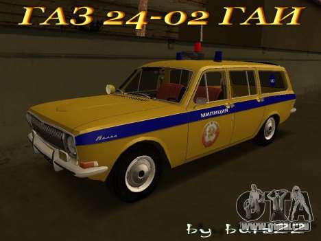 Volga 24-02 GAI pour GTA San Andreas