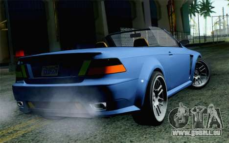 GTA 5 Ubermacht Sentinel Coupe SA Mobile für GTA San Andreas linke Ansicht