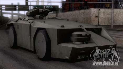 Alien APC M577 für GTA San Andreas