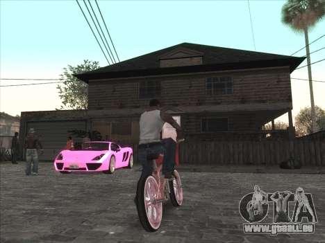 Persönliche Auto auf der Grove Street CJ für GTA San Andreas