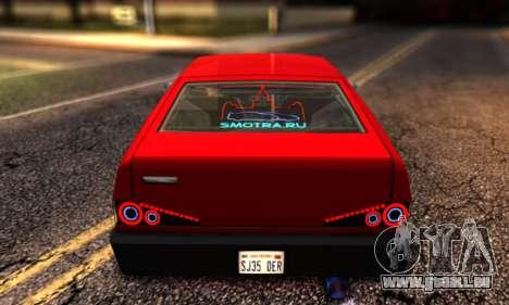 Blista Compact By VeroneProd pour GTA San Andreas sur la vue arrière gauche