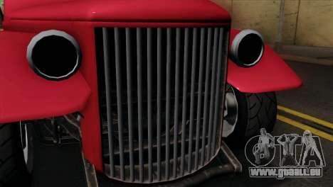GTA 5 Bravado Rat-Truck IVF pour GTA San Andreas vue de droite