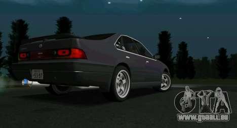 NISSAN Cefiro (A31) pour GTA San Andreas sur la vue arrière gauche