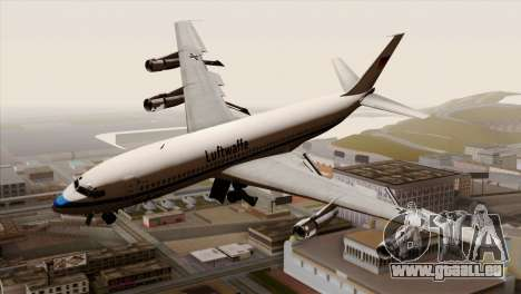 Boeing 707-300 Luftwaffe pour GTA San Andreas