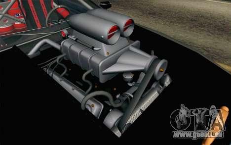Elegy Modification pour GTA San Andreas vue arrière
